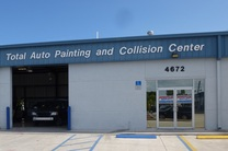 Front of Total Auto Painting and Collision Center