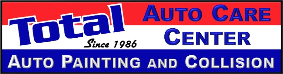 Total Auto Painting and Collision Center Sign